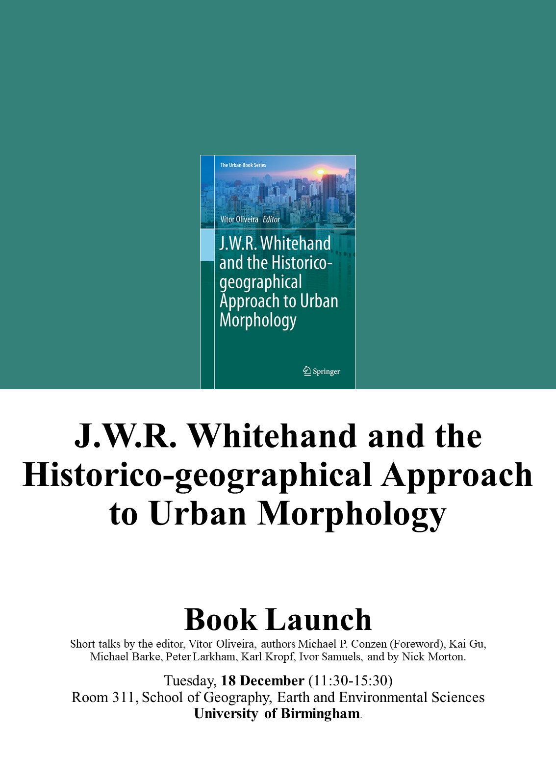 J.W.R. Whitehand and the Historico-geographical Approach to Urban Morphology.jpg
